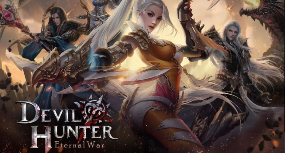 Devil Hunter: Eternal War is an MMORPG about angels warring with devils that's heading for iOS and Android