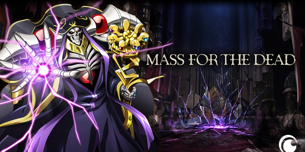 Mass for the Dead, the hero-collecting RPG based on the anime Overlord, is available now for iOS and Android
