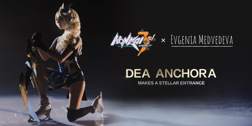Honkai Impact 3rd celebrates its upcoming S-rank battlesuit by teaming up with Russian figure skater Evgenia Medvedeva