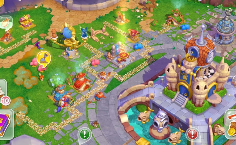 Cats & Magic: Dream Kingdom is available now for iOS and Android and sees players creating their own feline city