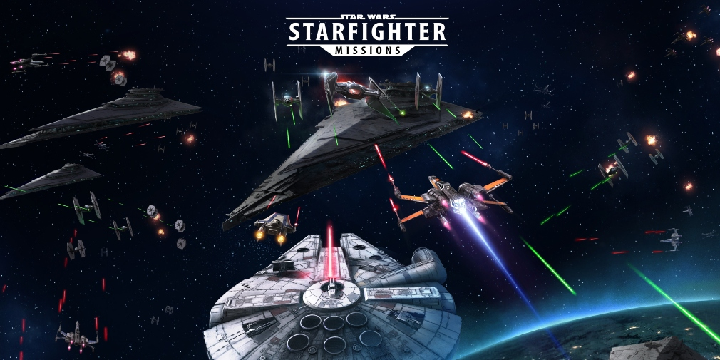 Star Wars: Starfighter Missions, Joymax's flight shooter, is now available for iOS and Android in select regions