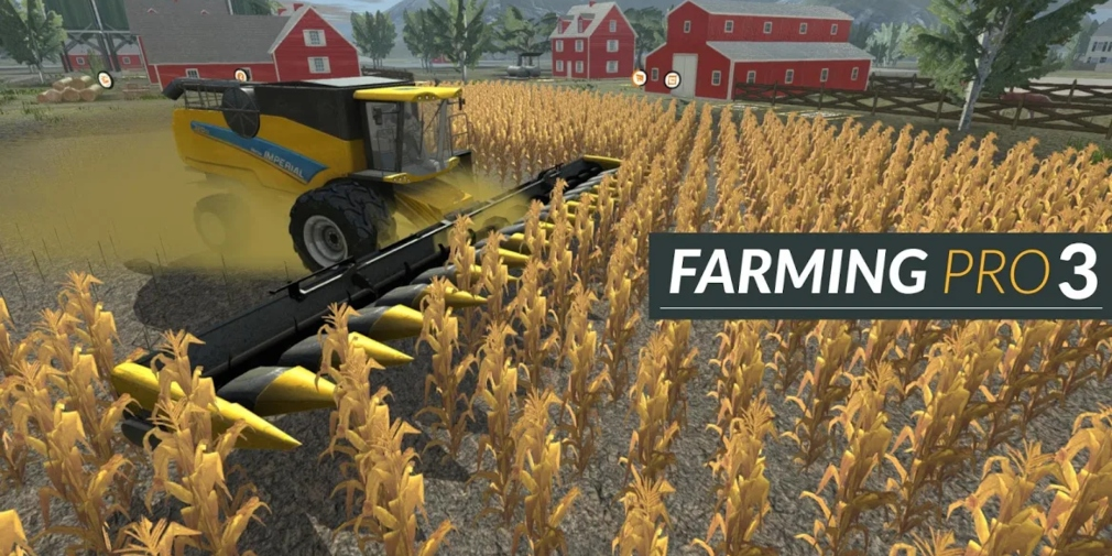 Farming Pro 3 is a new agricultural sim that's available now for both iOS and Android