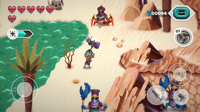 Legend of the Skyfish 2 is an action RPG sequel to the popular 2016 game and it's available now for Apple Arcade