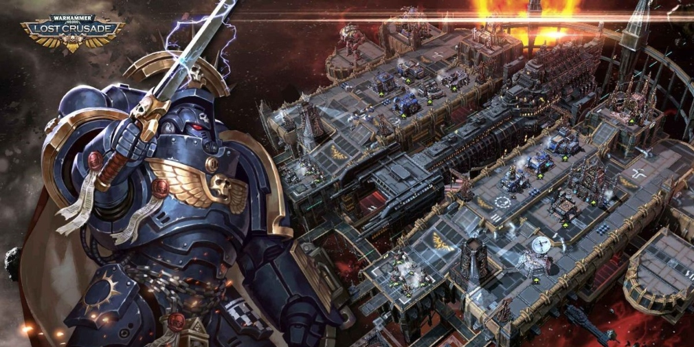 Warhammer 40,000: Lost Crusade is an upcoming MMO strategy game that's heading for mobile in the first half of 2020