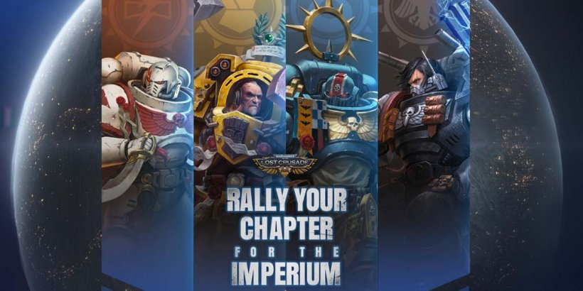 Warhammer 40,000: Lost Crusade is letting players pick from one of four Space Marine Chapters in its latest update
