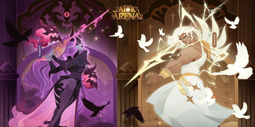 AFK Arena will add two original characters, Zaphreal and Lucretia, to the game next week