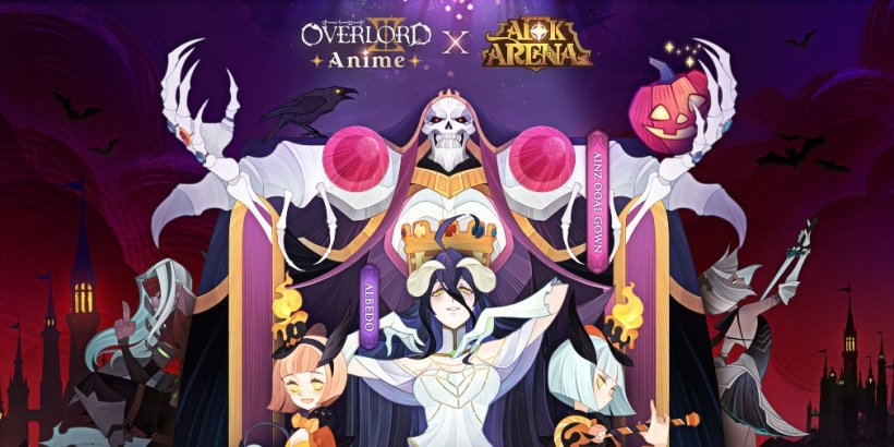 AFK Arena teams up with the anime Overlord to celebrate Halloween