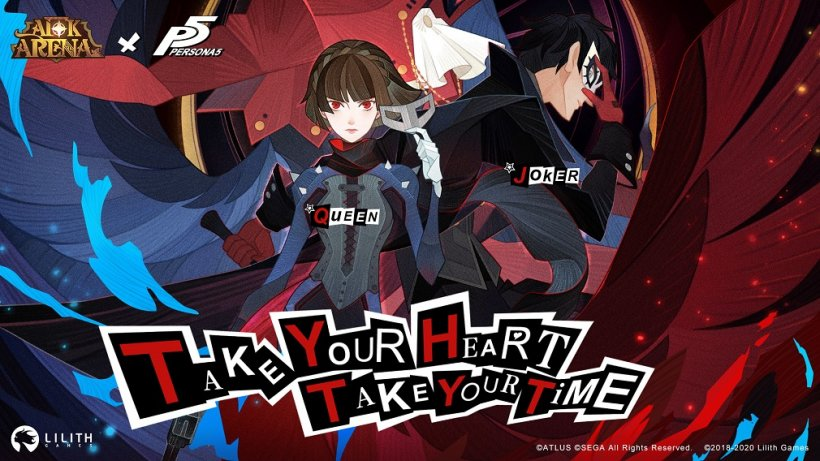 AFK Arena welcomes PERSONA5's most famous characters, JOKER and QUEEN, to its cast of heroes