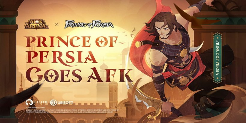 AFK Arena introduces Prince of Persia in another collaboration between Lilith Games and Ubisoft