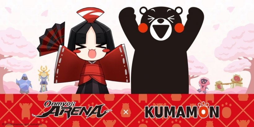 Onmyoji Arena is set to have a collaborative event featuring the Japanese mascot Kumamon