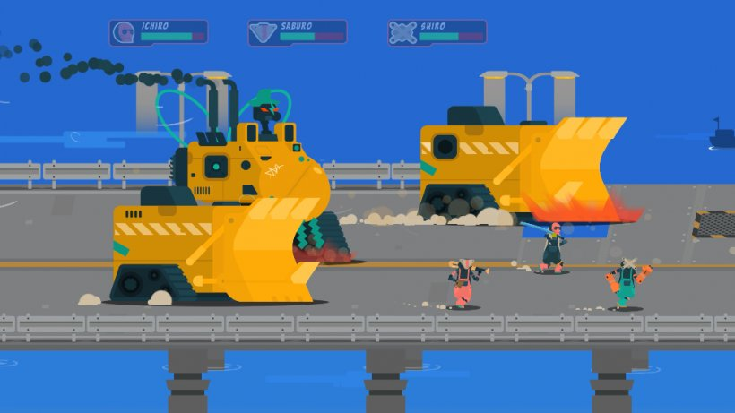 Scrappers, the waste management beat 'em up on Apple Arcade, receives update with a new area and game mode