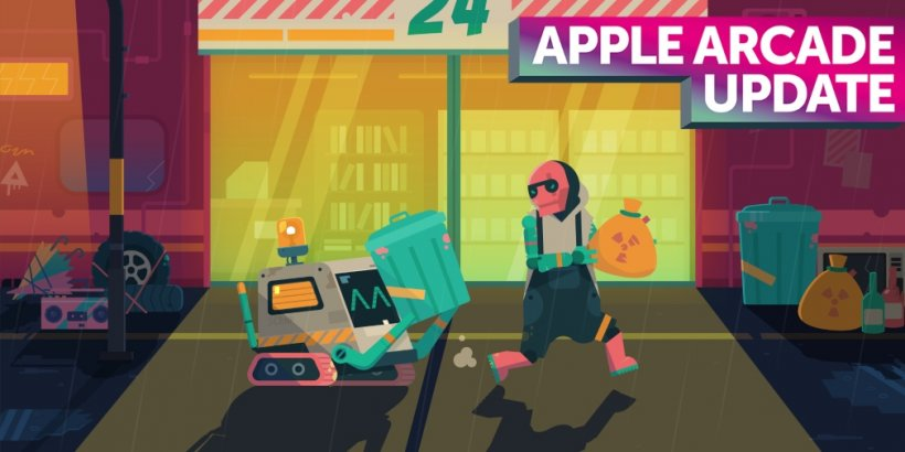 Scrappers, the stylish Apple Arcade beat 'em up, has received a major update that includes an AI companion bot