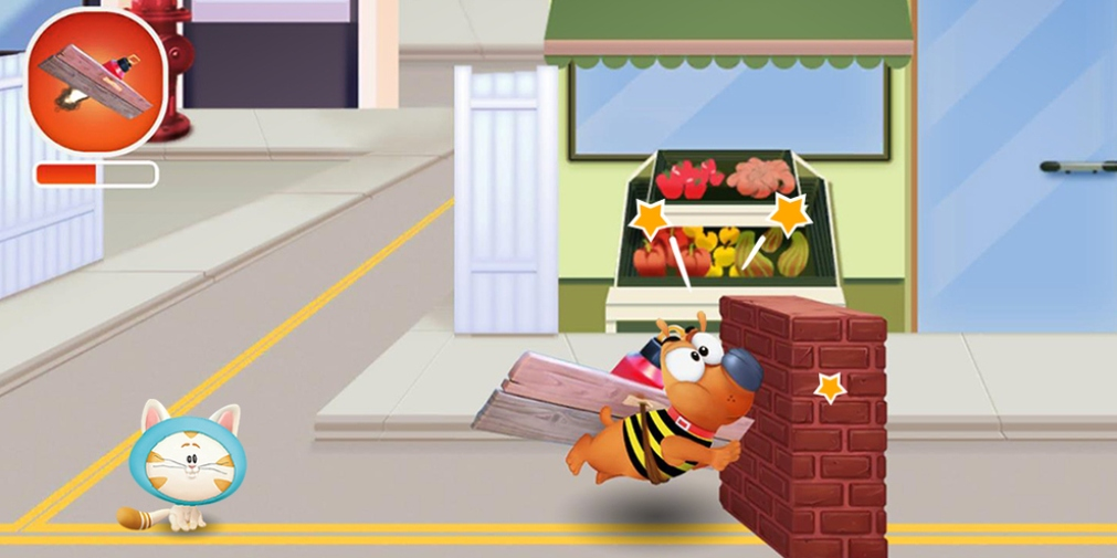 Pat the Dog is a launcher game for iOS and Android that's based on the children's TV show