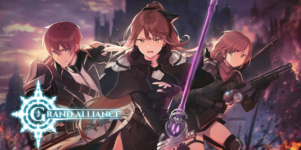 Crunchyroll Games lance le RPG Grand Alliance