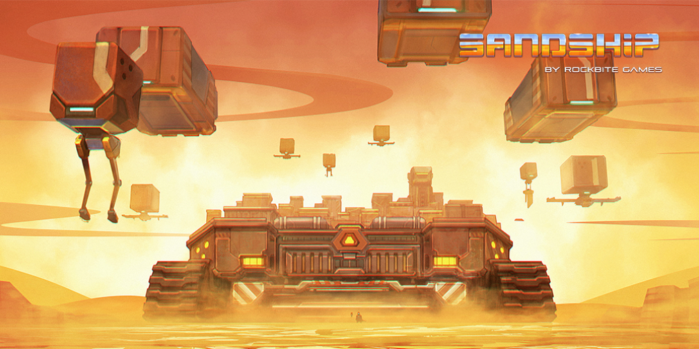 Sci-fi factory sim Sandship: Crafting Factory launches a day early for iOS and Android