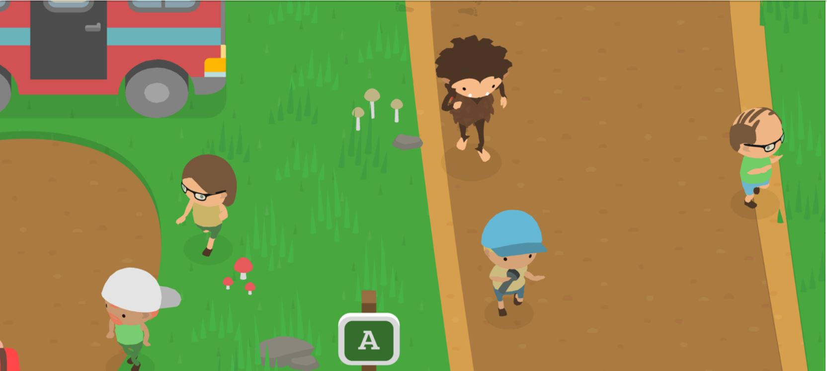 Sneaky Sasquatch: Three things you can use coins on outside the Racoon's shop