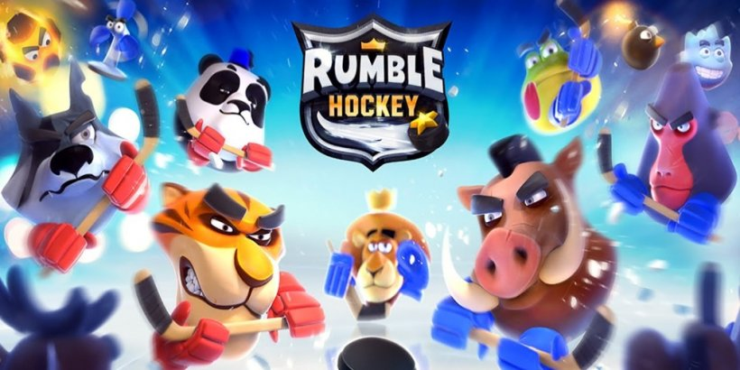 Rumble Hockey, Frogmind Studios' hockey adaptation of Rumble Stars Soccer, is available now for iOS and Android