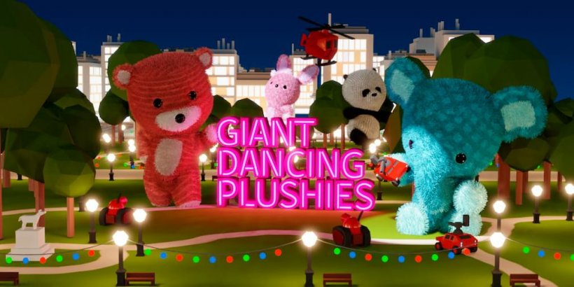 Giant Dancing Plushies, a light rhythm action game, is now available for iOS and Android