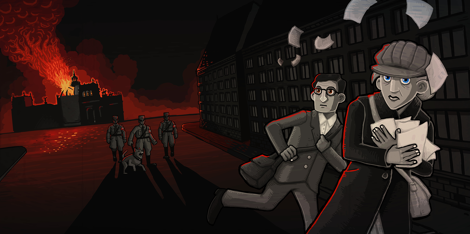 Lead a resistance against the Nazis in Through the Darkest of Times, out now for iOS and Android