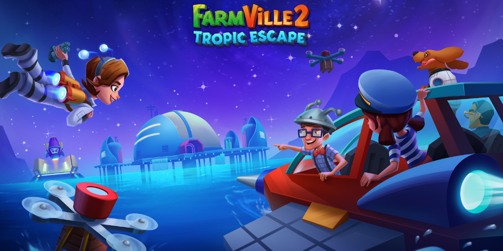 FarmVille 2: Tropic Escape celebrates the anniversary of the moon landing with a special in-game event