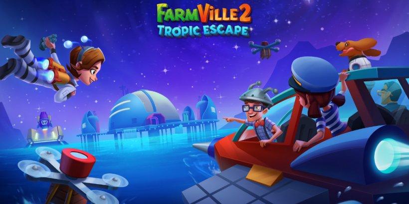 FarmVille 2: Tropic Escape's latest event, The Fallen Trireme, will include a day-night cycle