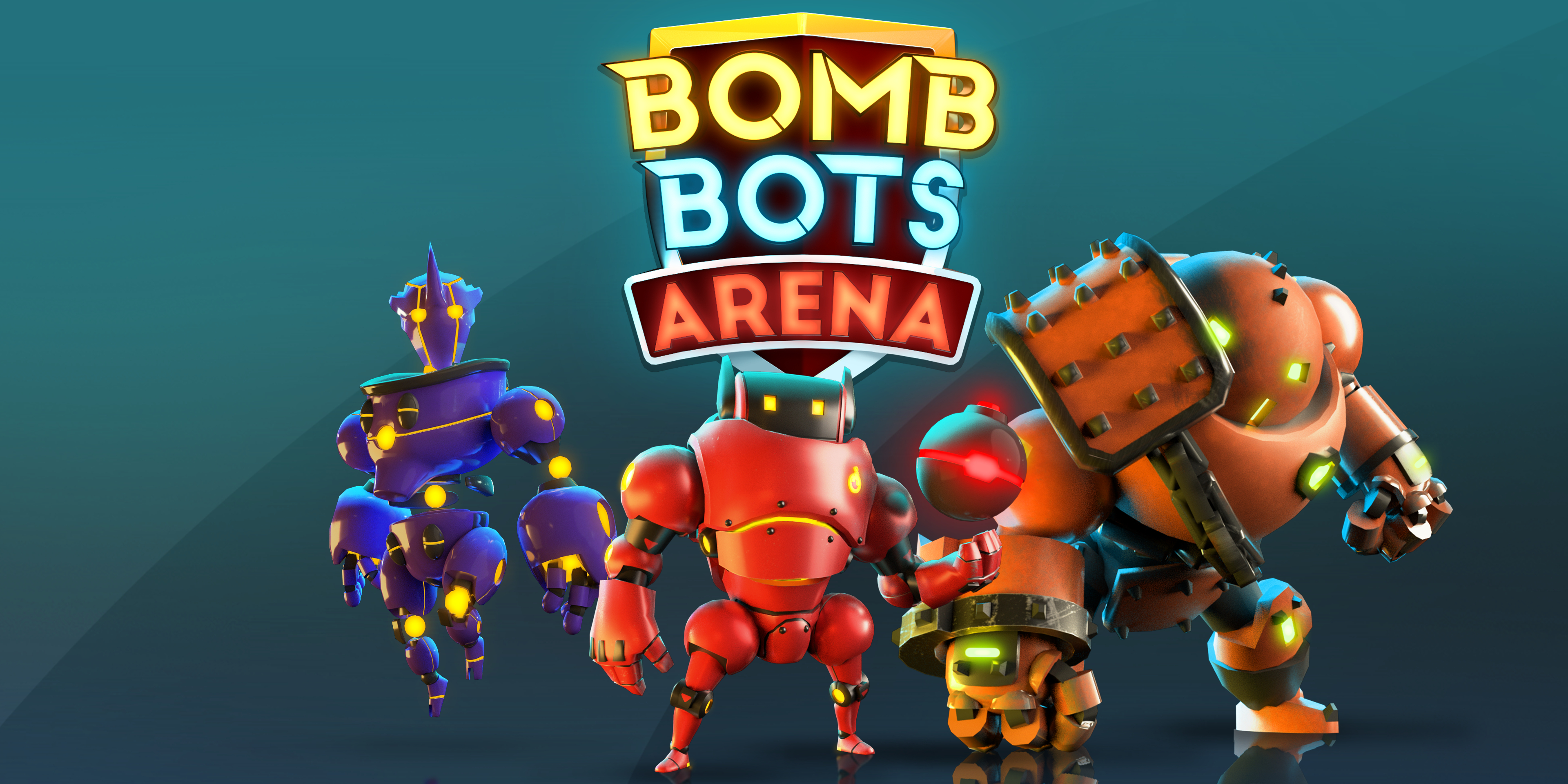 Bomb Bots Arena is an intense, mobile-friendly spin on Bomberman that's heading to iOS and Android in June