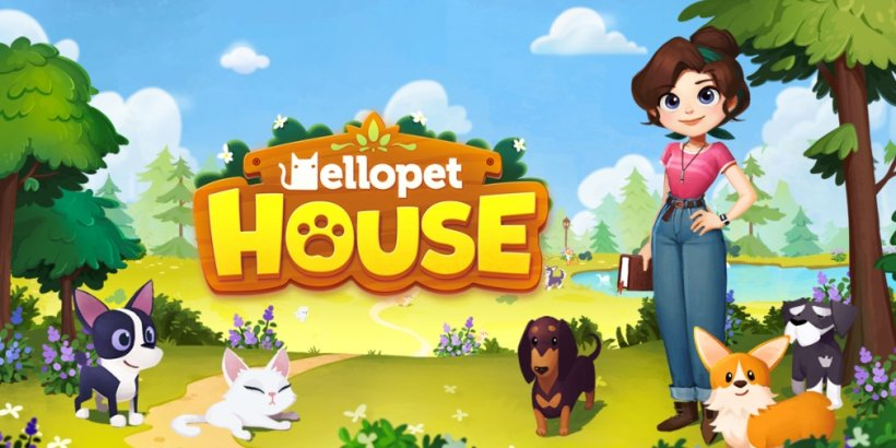 Hellopet House is a casual management game for Android about renovating a house and adopting many pets