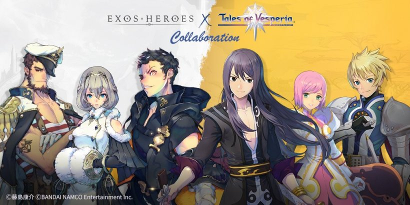 Exos Heroes launches special collaboration event with Bandai Namco's Tales of Vesperia