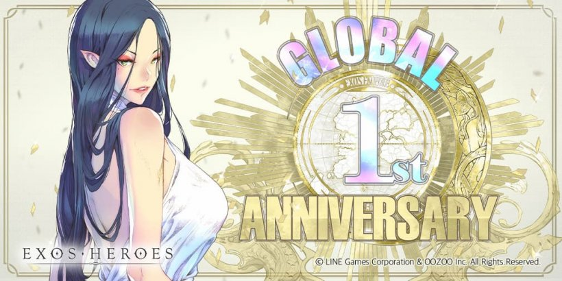 Exos Heroes introduces a new Fatecore, Dominator Neomi, as the game celebrates its first anniversary