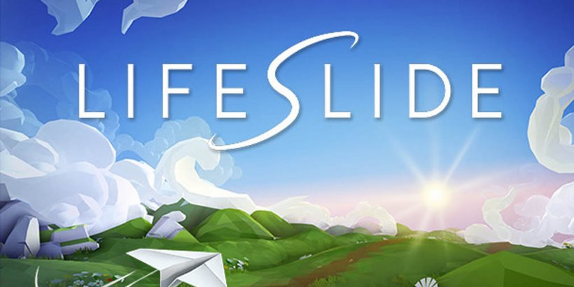 Lifeslide, the Apple Arcade meditative paper plane experience, comes to Steam this week with a demo