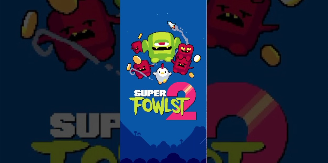 Crush demons as a killer chicken in Super Fowlst 2, now available for iOS and Android