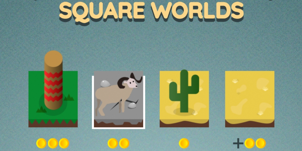Square Worlds is a tile-placement game that promises a surprisingly deep level of strategy