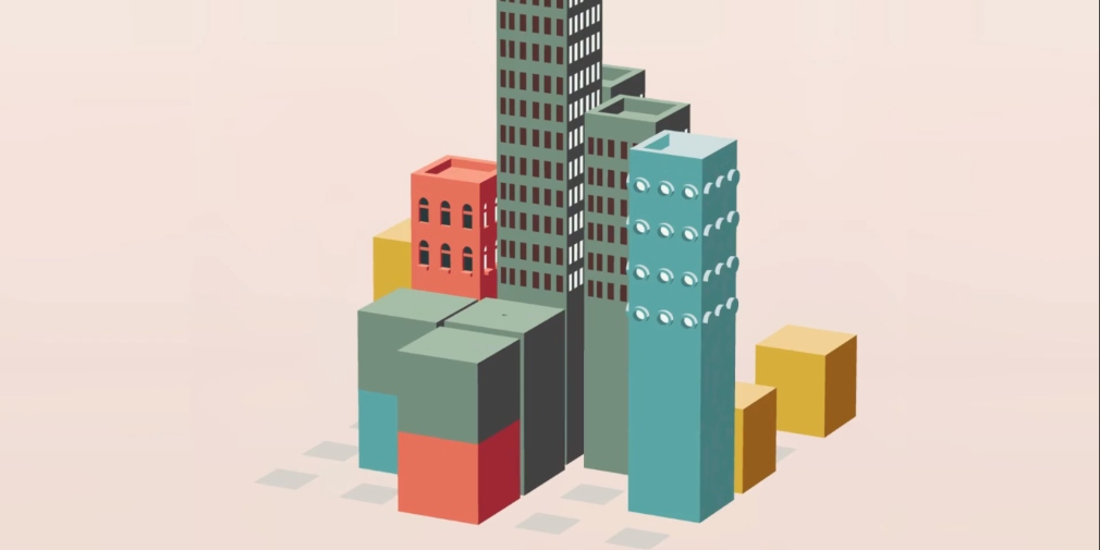 High Rise is a stylish match-3 puzzler where you'll build a city by matching coloured blocks