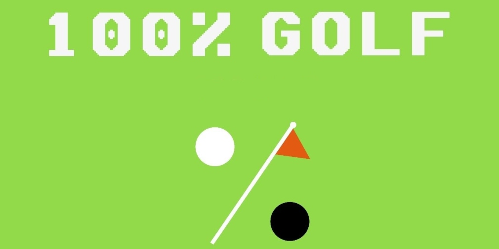 100% Golf is a sports game heading for iOS where you have a limited amount of shot power per hole