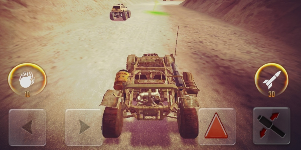 Devil's Peak Fury is a post-apocalyptic endless racer that's available now for iOS