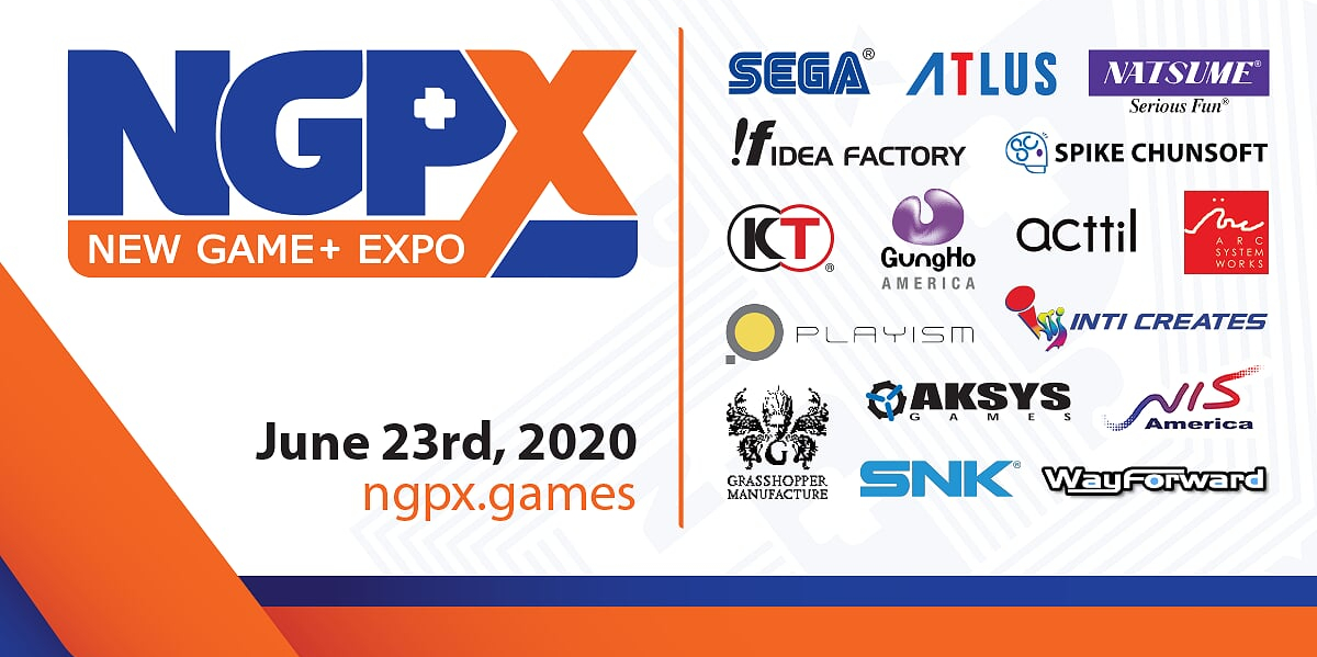 New Game+ Expo is a digital showcase set for June 23rd, will feature games from SEGA, Koei Tecmo, Atlus, Grasshopper Manufacture, and more