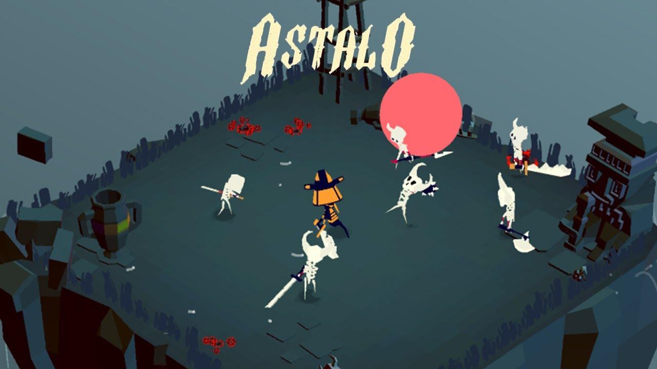 Les créateurs de PAKO reviennent avec un dungeon crawler minuscule dans Astalo, disponible maintenant