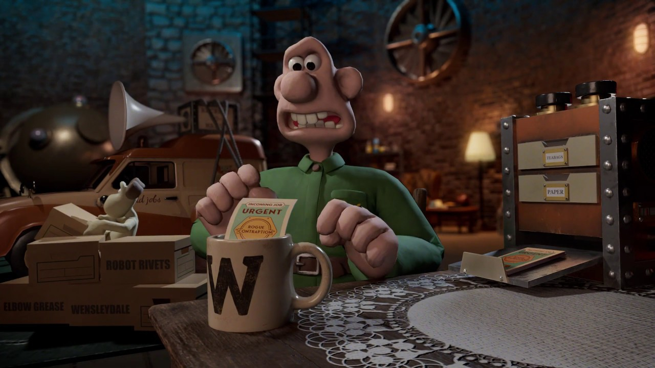 Wallace & Gromit: The Big Fix Up transporte le duo dans une aventure 100% anglaise en réalité augmentée