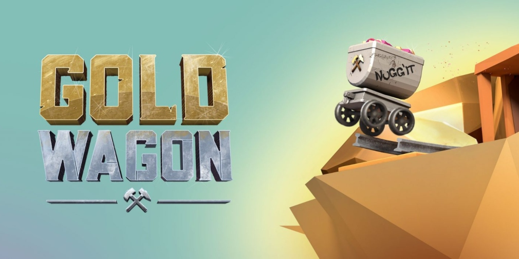 Gold Wagon is an arcade game about dodging obstacles and grabbing gold nuggets