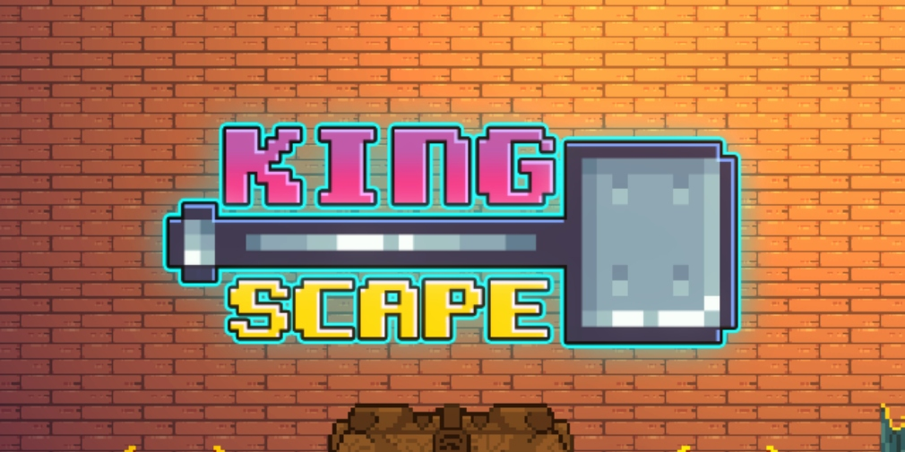 King Scape is a casual action game for iOS about smashing through castle floors with a big hammer