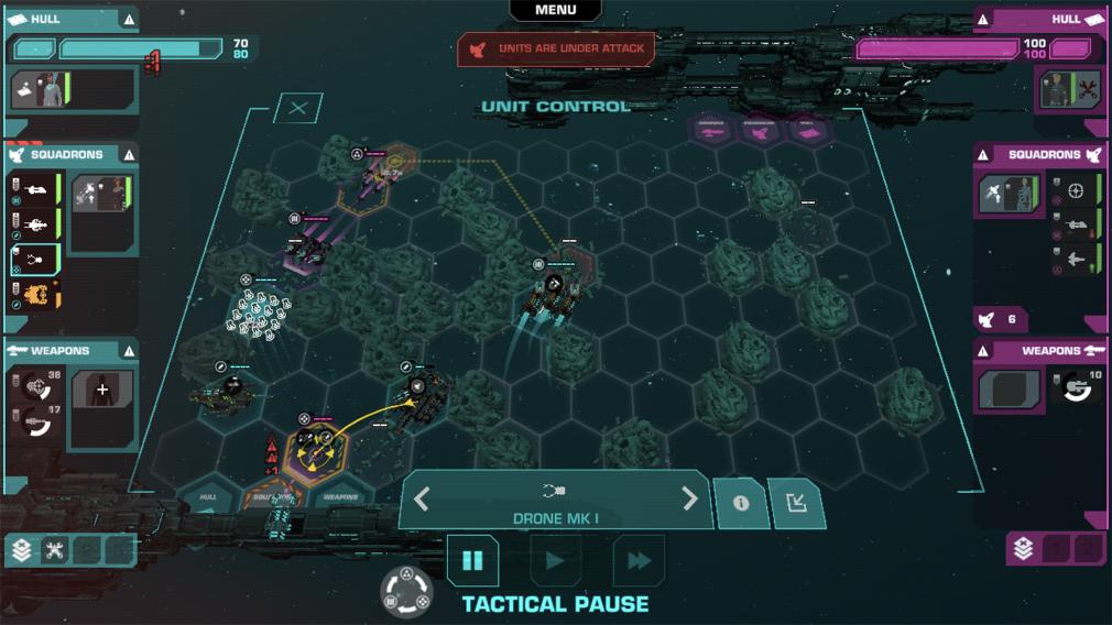 Le jeu premium de stratégie Crying Suns, mélange entre FTL et Out There, est disponible sur mobiles