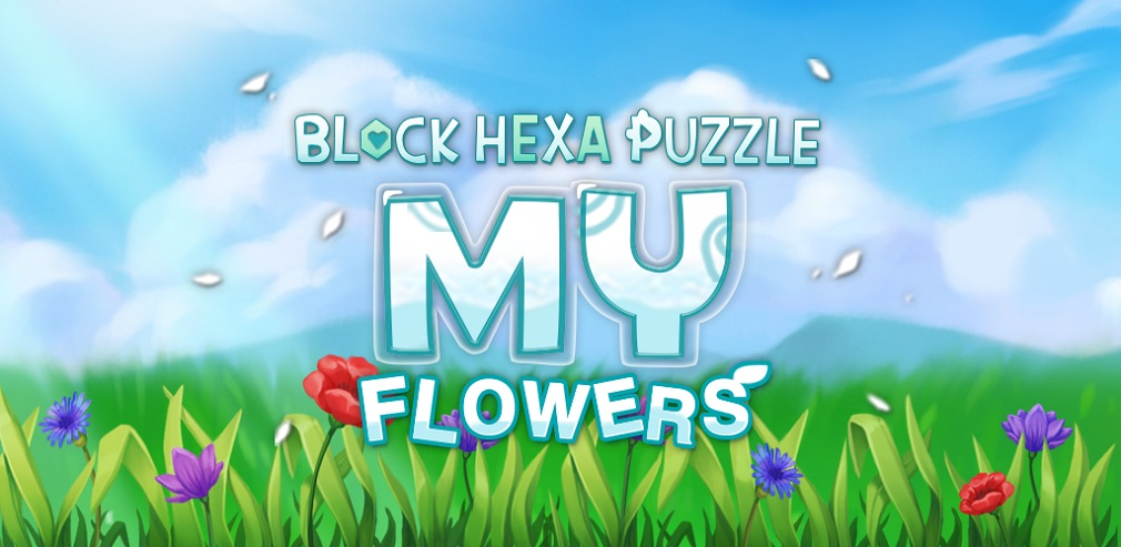 Enjoy a stress-relieving puzzle experience with My Flower, out now on iOS and Android