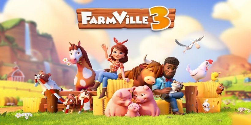 FarmVille 3 will launch for iOS and Android in November with pre-registration now available
