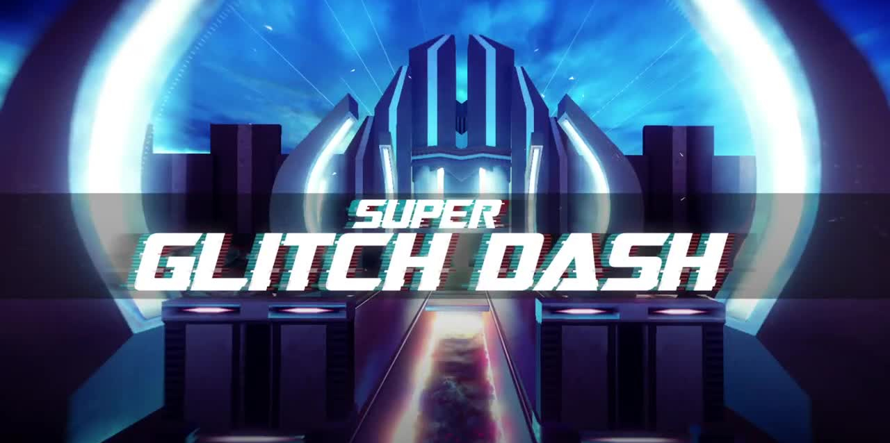 Super Glitch Dash is set to deliver hypnotic first-person running action to Android this summer