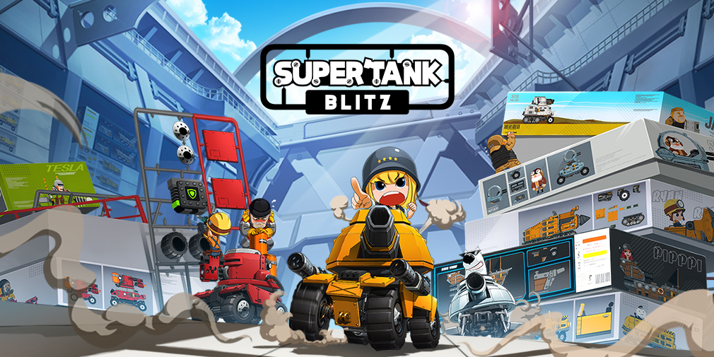 Super Tank Blitz delivers epic tank battles to iOS and Android in July