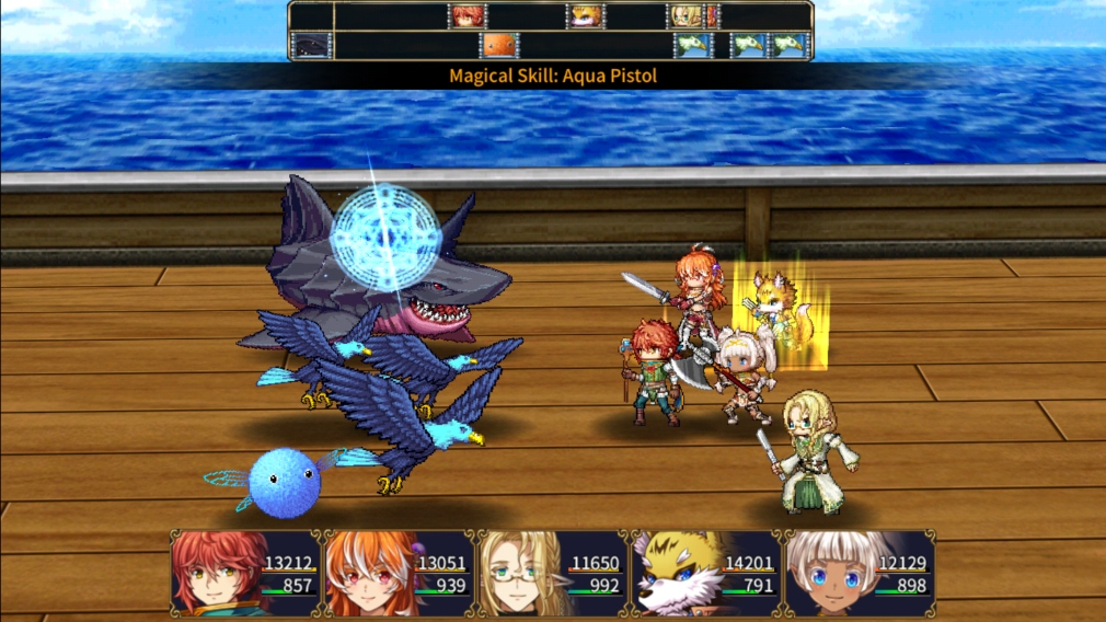 Ruinverse is a turn-based RPG for iOS and Android that follows a young girl with two souls