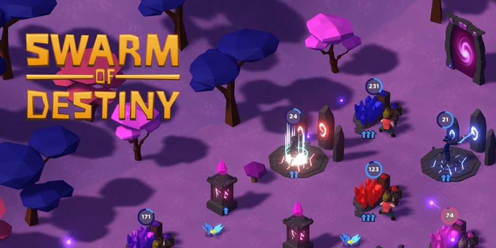 Swarm of Destiny: Fantasy Idle is an idle RPG that sees players commanding creatures called The Swarm