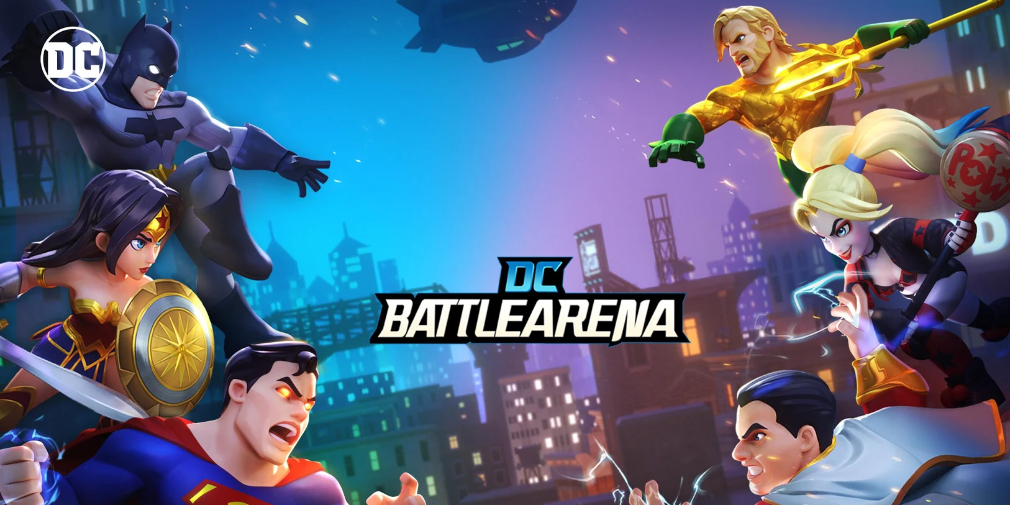 DC Battle Arena is a superpowered MOBA that just launched its first closed beta test for Android