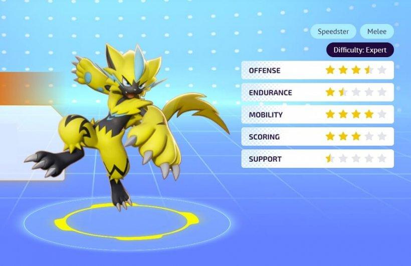 Pokemon Unite. Как бесплатно получить Zeraora