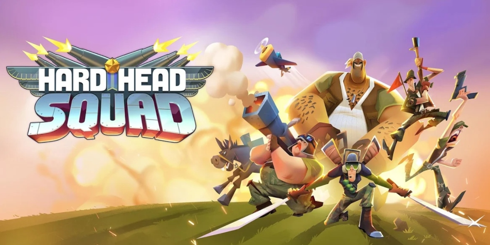 Hardhead Squad: MMO War is a strategy game for iOS and Android from Rovio that's available in soft-launch for select countries